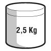 2,5 kg